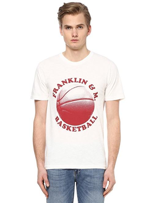 Franklin & Marshall Tişört Beyaz
